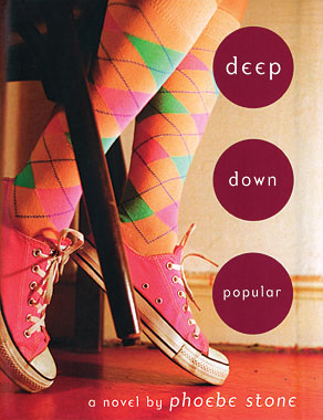 Cover of Deep Down Popular a new novel by Phoebe Stone