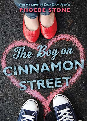 Jacket Cover Art -- The Boy on Cinnamon Street by Phoebe Stone