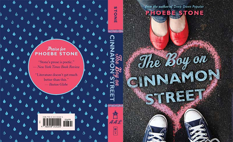 Book Covers Front And Back : Reading nook review the boy on cinnamon street phoebe